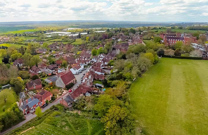 Aerial Photo of Sutton Valence