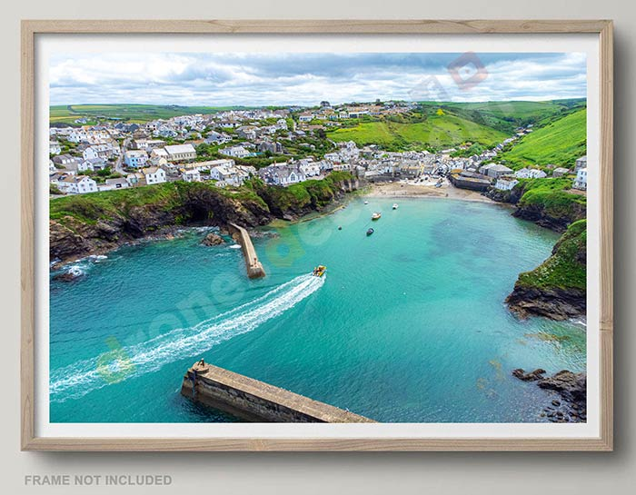 Port Isaac Drone Photo