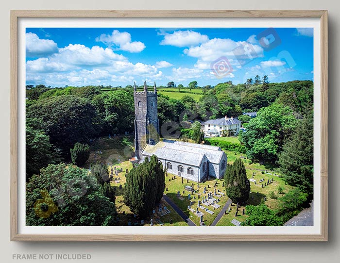 St Nonna's Church featured in Doc Martin