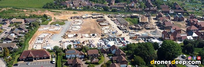 New houses being built in Littlebourne