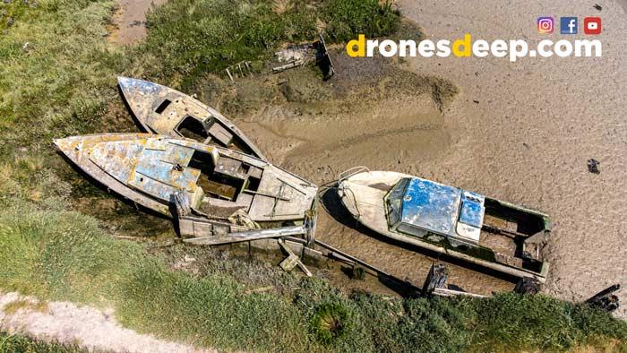 Sunken Boats in Kent