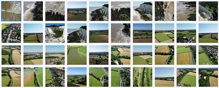 Uploading Drone Stock Footage Clips