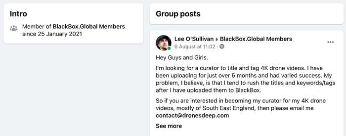 Blackbox Global Curator Advice