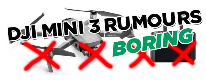 DJI Mini 3 Rumours