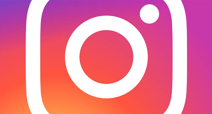 Instagram logo cropped for Wordpress